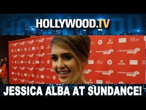 Jessica Alba At Sundance 2013 – Hollywood.tv