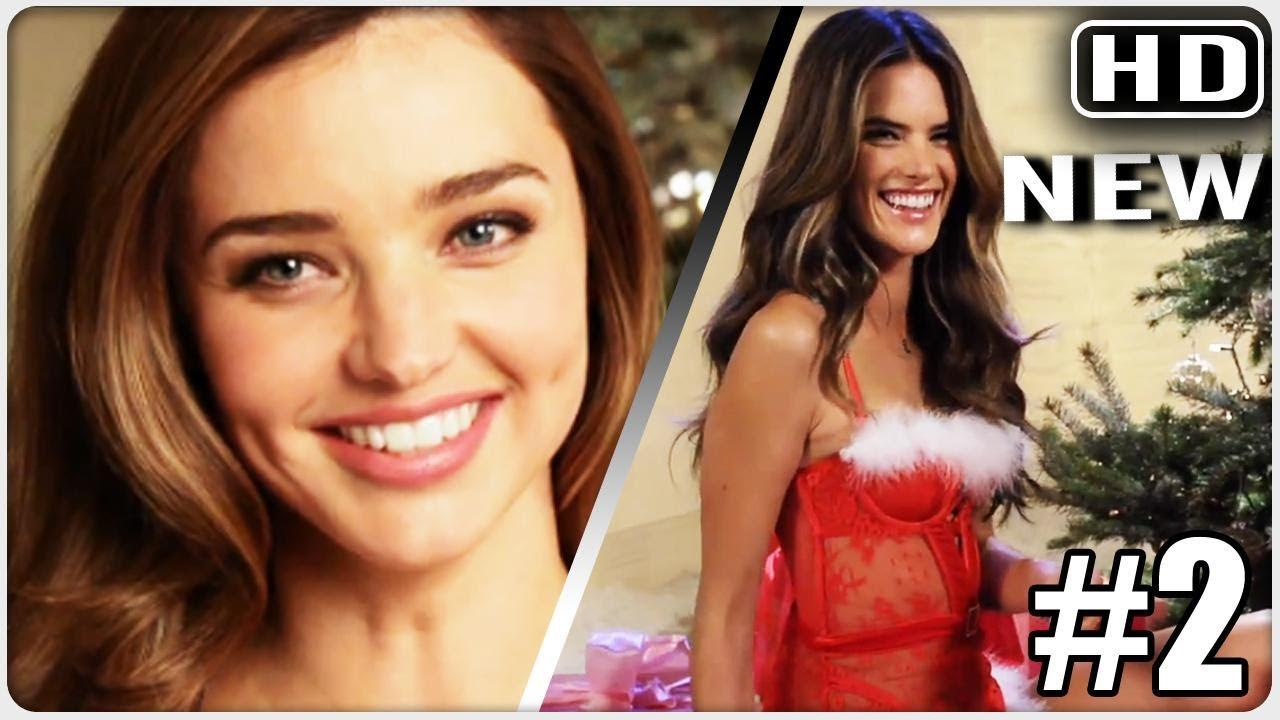 """Victoria's Secret Angels Sing """"deck The Halls"""" Christmas Sexy Hit"""