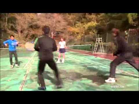 Gái Xinh Dạy Tennis…..