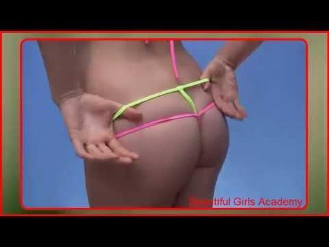 Beautiful Girls Academy; Beach Bikinis Layered Mesh Microkinis
