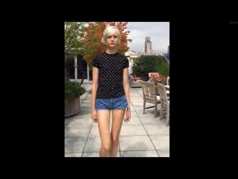 Beautiful Girls Academy; Juliette In Jean Shorts And Walking