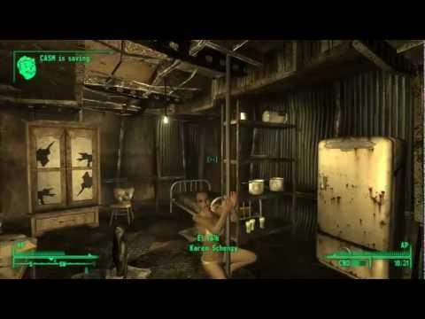 Fallout 3 Glitch – Sexy Pole Dance Fail