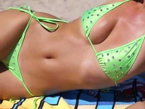 Hot Sexy Swimsuit Bikini Model Tashia Mcintosh Pacific Beach