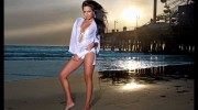Model Photo Shoot At Santa Monica Beach By Arthur St. John