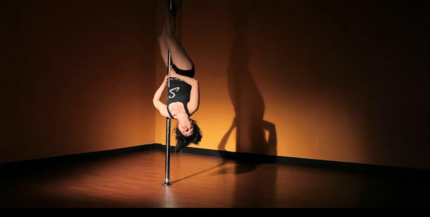 Intermediate Pole Dancing Moves How To Do A Basic Inversion