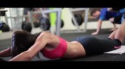 Fit Babe Lucie – Workout In The Gym – Sexy!