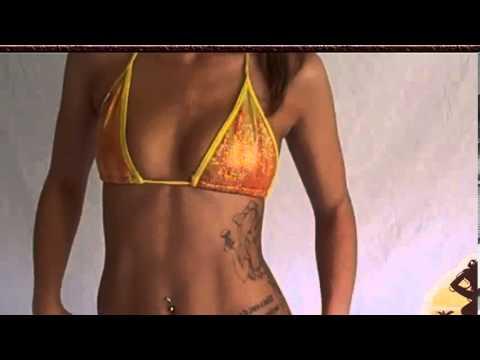 Hot Blonde Bikini Model Tessie Studio Photo Shoot