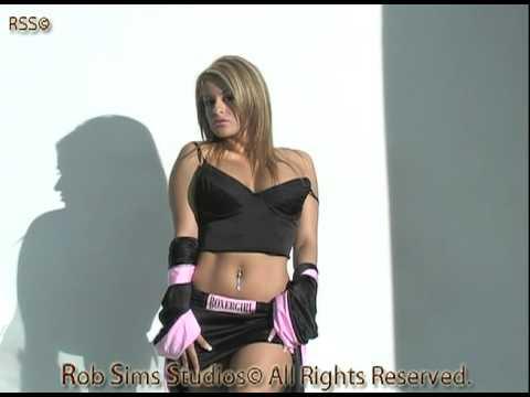 Valerie Shaw Boxer Lady Sexy Bikini Model Shoot W Rob Sims, Rental Preview