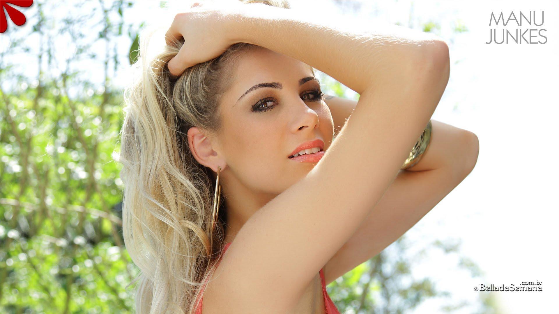 Manu Junkes   Part 2   Sexy Super Models   Bikini Babes   Hot Photo Shoot   Bella Club