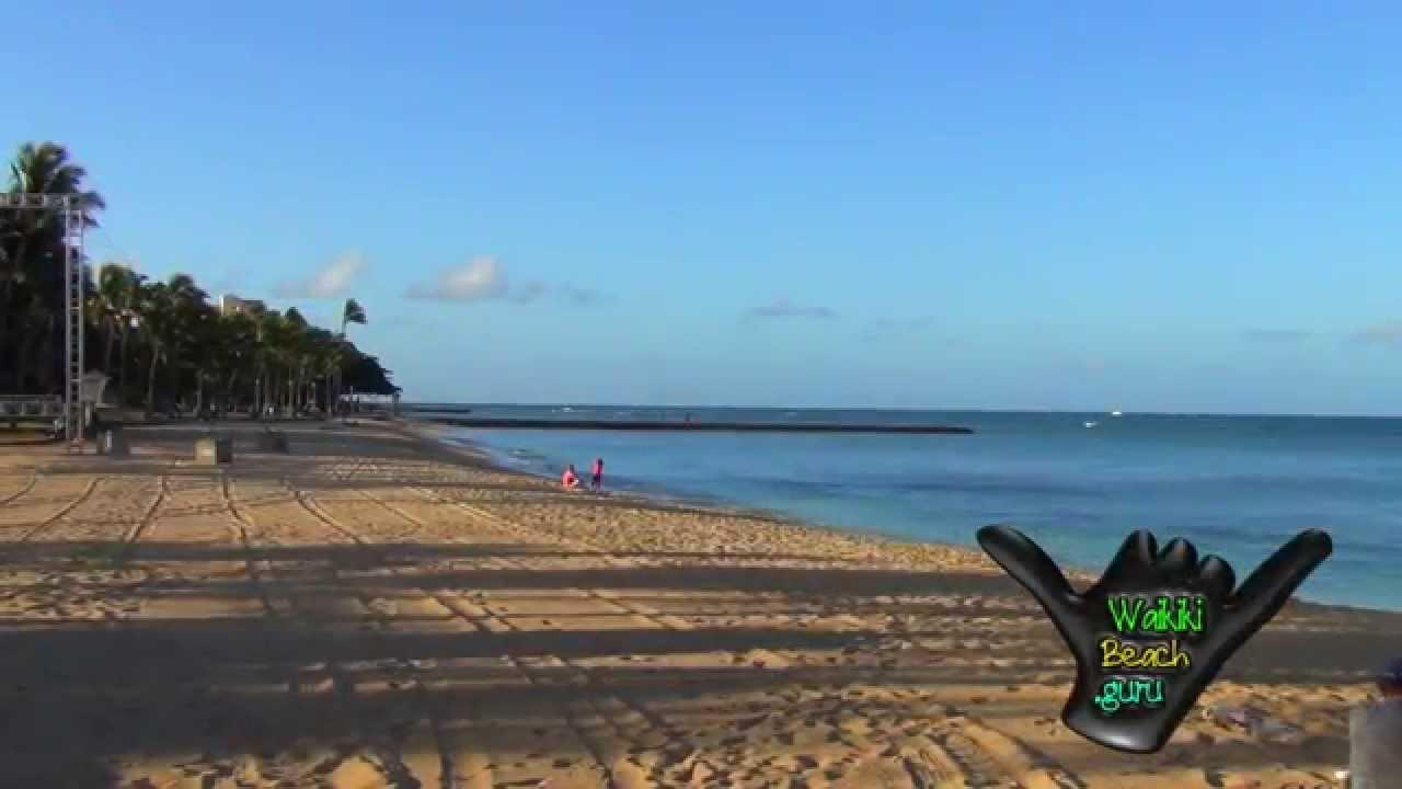 WBG – Near & Far – Waikiki Beach In Honolulu, Hawaii On The Island Of Oahu