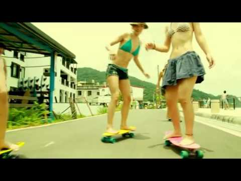 Beautiful Girls Academy; Longboard Girls Crew Taiwan